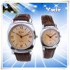Relógios luxuosos do couro do amor dos pares (YSI001)