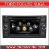 Reproductor de DVD especial de Car para Ford Focus2 Kuga con el GPS, Bluetooth. con el Internet de Dual Core 1080P V-20 Disc WiFi 3G del chipset A8 (CY-C140)