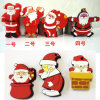 Usb-Blitz-Laufwerk USB-Stock-Großverkauf-Karikatur-Weihnachtsserien-Weihnachtsmann Pendrives USB-grelle Karte USB-grelles Plattenspeicher-Stock USB-Karten-Daumen-Laufwerk