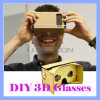 이동할 수 있는 맨 위 상자 마운트 Google 3개 피스 마분지 3D 유리 Vr 툴키트