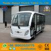 Zhongyi 14 Sitzweiße eingeschlossen weg von Straßen-batteriebetriebener klassischer Doppelventilkegel-beiliegendem elektrischem besichtigenauto mit Qualität