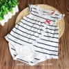 Breathable Print Cotton 100% Stripe Romper, Bodysuit для Baby