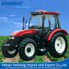 100HP 4 Wheel Drive con Yto Engine Agricultural Tractor