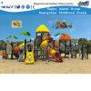Campo de jogos comercial de Playsets da corrediça ao ar livre da tubulação das crianças (HD-FY01801)