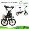14 pulgadas de aleación de aluminio plegable E-Bici (YZTD-7-14)
