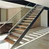 Prefabricar la escalera de cristal de las escaleras del pasamano de la barandilla del acero inoxidable