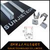 die 2m Längen-Silber anodisierte Aluminium-LED-Profil für Streifen der 8mm Schaltkarte-Breiten-LED