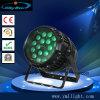 방수 단계 동위 18PCS 10W RGBW 급상승 LED 동위 빛