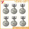 Liga de zinco personalizada Medalha gold plating Metal Logotipo com