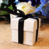 Customzied boîte cadeau carrés colorés de boîtes en carton avec de la soie