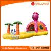 Krake-aufblasbares springendes federnd Schloss mit Plättchen-kombiniertem Spielzeug (T3-313)