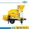 8m3/H Yanmarのディーゼル機関の移動式コンクリートの混合ポンプ機械