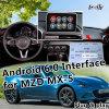 Android 6.0 Cuadro de navegación GPS para 2014-2018 Mazda MX-5 CX-3 CX-4 CX-5 CX-9 con WiFi integrado Mirrorlink Live Google mapa de navegación