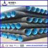 Acoplamiento de HDPE Double-Wall recto tubo corrugado