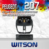Coches reproductor de DVD para Peugeot 207 con A8 Chipset S100 (W2-C207)