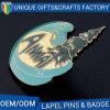 方法卸売のための堅い模造エナメルのバッジPin