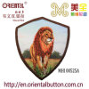 Leone Logo Embroidery Patch con Back Glue