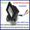 720p HD Waterproof 10W Flood Light PIR DVR Camera Home Garden Security Motion Detection Monitor
