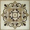 Natürliches Steinmarmorwasserstrahlmedaillon-Einlegearbeit-Mosaik-Muster