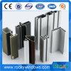 Perfil de aluminio de la protuberancia para hacer puertas y Windows