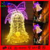 2D pvc Garland Motif Street Light van LED Fancy Bell