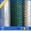 Engranzamento sextavado revestido galvanizada e do PVC de fio com preço de fábrica