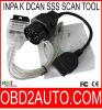 Software de Rheingold del interfaz del USB de Inpa K Dcan Ediabas SSS Ncs OBD2 para BMW
