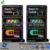 Etiketten van het Apparaat van de douane USB de Elektro Holografische Glanzende UV Bestand Glanzende