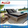 Fancy muebles de patio exterior de malla resistente al agua sofá doble tumbona tumbona