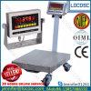 Balanza 100kg, 150kg 200kg 300kg, 500kg de la plataforma eléctrica de Digitaces