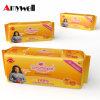 Guardanapo sanitários respiráveis do algodão fêmea para mulheres