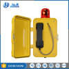 Влагостойкие прочный SIP/телефон VoIP для Undergrounds, аварийные телефоны туннеля