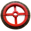 灰色カラー赤い版のMonfortsの小さい車輪のブラシ(YY-746)