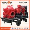 6 인치 농장 관개 움직일 수 있는 디젤 엔진 수도 펌프
