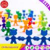 Nettes Bären-Karikatur-Muster blockt Spielzeug für Ausbildung