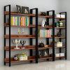 Bücher Steel&Wood Standplatz-Regal-Zahnstange für Bildschirmanzeige
