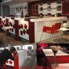 Decorazione su ordine L contatore della barra del ristorante del caffè della mobilia del caffè del contatore della barra di figura