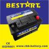 Bci-48 12V SMF Automotive Car Battery 66ah