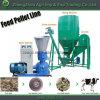 1-2t / H Linha de produção de ração animal Equipamento de fabricação de alimentos Planta de alimentação de gado