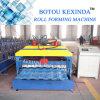 Kexinda 1080 vitrificou o rolo da telha que dá forma à máquina