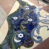Medaglione del marmo del bordo della pietra blu da Waterjet