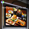 Wall Mounted Crystal Acrylic Photo Frame Menu Board Display Light Box