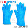 高温通気性のスリップ防止シリコーンの手袋