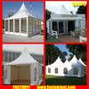 De duidelijke Tent van de Pagode van de Tent Transparante Hoge Piek voor de Gast van Seater van 60 Mensen