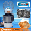 Misturador de massa de pão manual da bacia fixa elétrica do equipamento da padaria da pintura