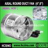 Exhaust in-linea Fan/Axial Flow Fan/Duct Fan per Hydroponics