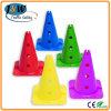 Cone de circulation de couleur plastique standard d'Europe avec certification CE