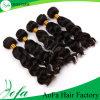 Trama serica dei capelli umani della materia prima dei capelli umani di 100%