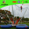 Mode mobile gonflable sport Bungy Jumping Bed