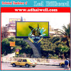 Custom Design al aire libre a todo color de vídeo Pantallas de Billboard con la estructura de acero LED